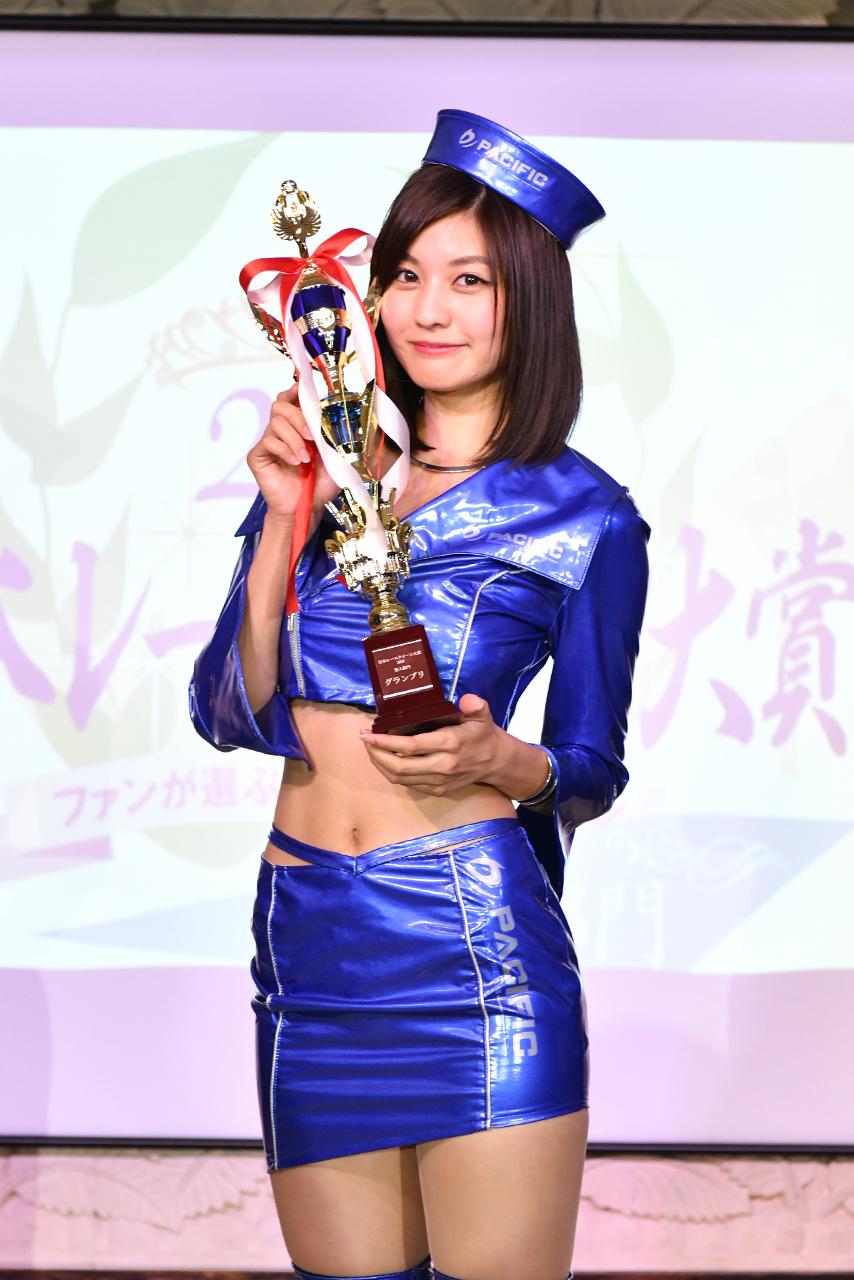 日本レースクイーン大賞2018新人部門受賞者が決定。林ゆめさんがNo.1ルーキークイーンに輝く
