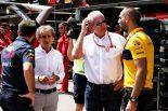 F1 | 2018年F1モナコGP レッドブルのクリスチャン・ホーナーとDr ヘムルート・マルコ ルノーのアラン・プロストとシリル・アビテブール