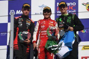 レース1~3のすべてで優勝したエンツォ・フィッティパルディ(プレマ・セオドール・レーシング)