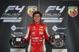 3連勝でランキングトップに立ったエンツォ・フィッティパルディ(プレマ・セオドール・レーシング)