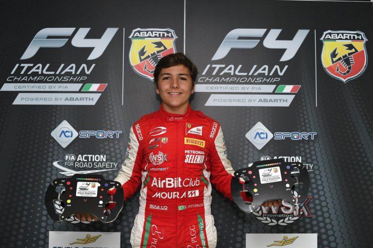 海外レース他   プレマ・セオドール・レーシング イタリアF4第4戦ミサノ レースレポート