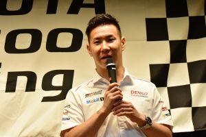トヨタのル・マン24時間優勝メディア報告会に出席した小林可夢偉