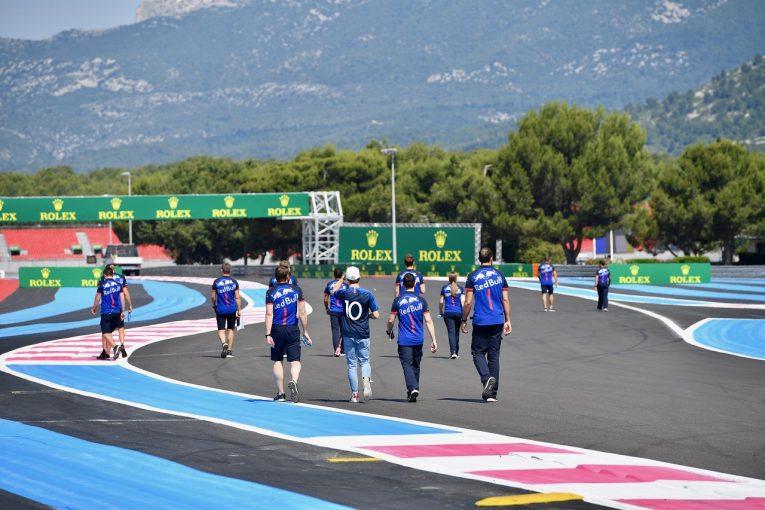 F1 | ホンダF1、ガスリーの母国フランスへ。「パワーが重要なサーキットでいいレースをしたい」