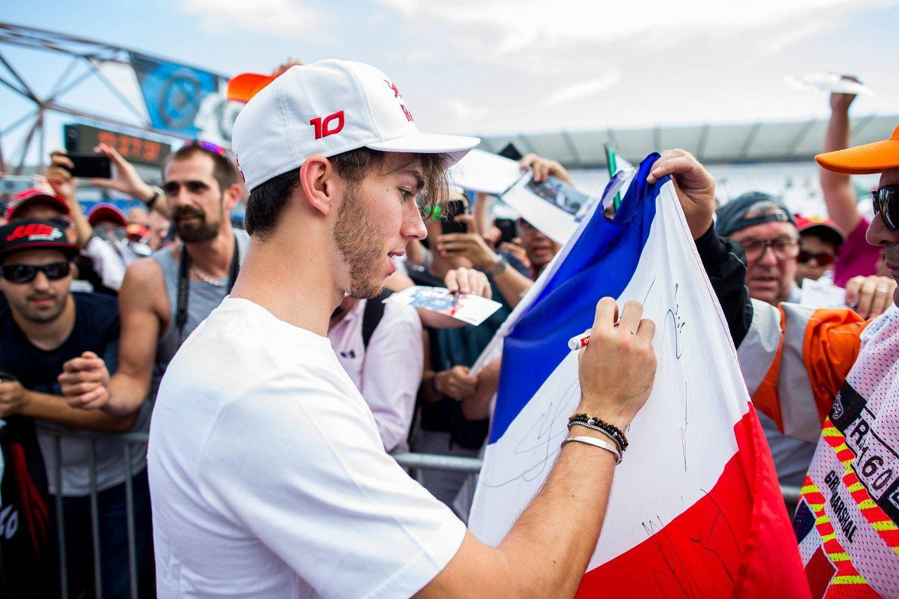 2018年F1第8戦フランスGP木曜 ピエール・ガスリー(トロロッソ・ホンダ)
