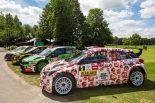 WRC:ランキング首位のヌービル、チャリティーカラーのヒュンダイで地元ベルギーのラリー参戦