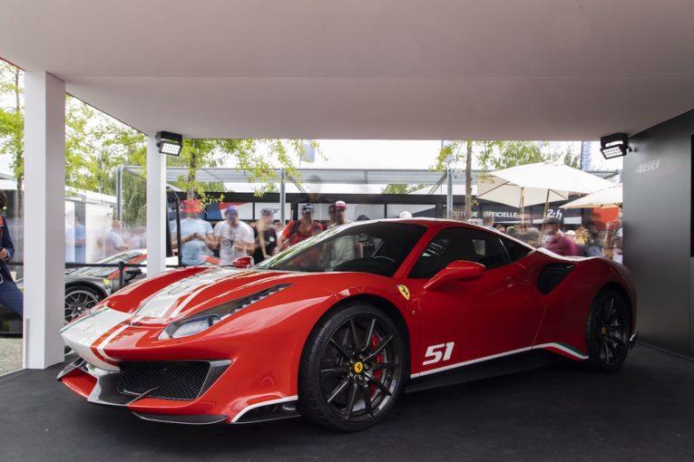 クルマ | WECタイトル獲得に敬意を表した『フェラーリ488ピスタ』の特別モデルを発表