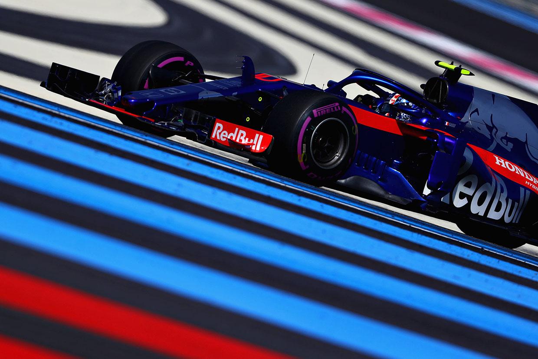 F1フランスGP FP2:ハミルトンがトップ、ガスリー10番手もハートレーにトラブル発生