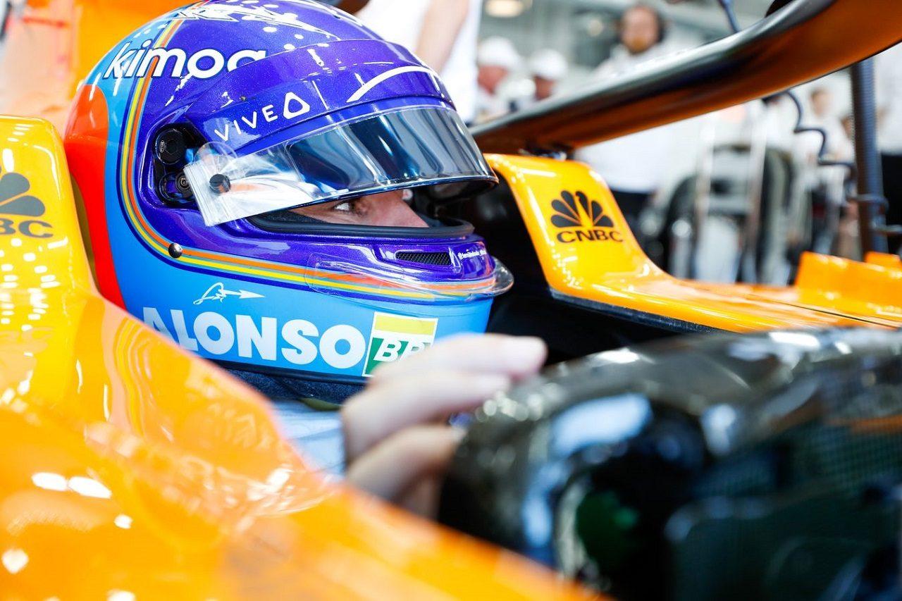 2018年F1第8戦フランスGP フェルナンド・アロンソ(マクラーレン)