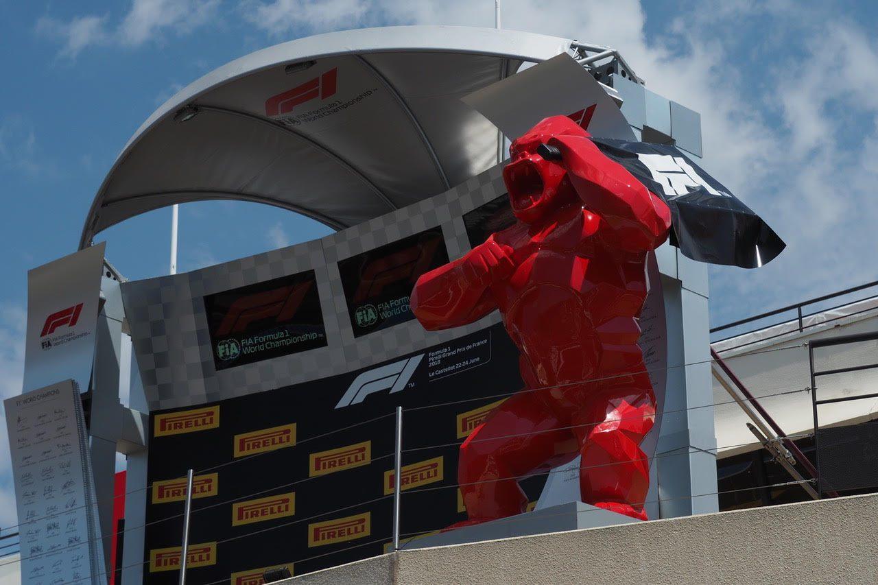 F1フランスGP現地情報