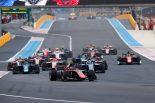 海外レース他 | FIA F2第5戦フランス レース1:ラッセルが今季3勝目。牧野、福住はダブル入賞