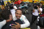 F1 | ハミルトン、今季3勝目で再びランキング首位に「エンジンアップグレードのおかげでライバルたちと戦えた」:F1フランスGP日曜