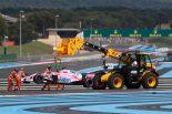 F1 | 0周リタイアのオコン「母国でのレースを楽しみにしてたのに…」:フォース・インディア F1フランスGP日曜