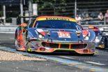 LM-GTEアマクラス8位となった61号車フェラーリ488 GTE