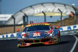 LM-GTEアマクラスに参戦しているクリアウォーター・レーシングの61号車フェラーリ