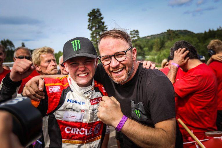 ラリー/WRC | ペター・ソルベルグの長男オリバー、RXノルディック第3戦でキャリア4勝目をマーク