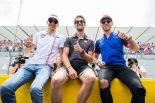 決勝レース前はニコニコ上機嫌だった3人だが……