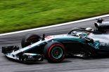 2018年F1第9戦オーストリアGP FP1:アップデート投入のメルセデスがトップ