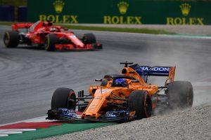 2018年F1第9戦オーストリアGP フェルナンド・アロンソ