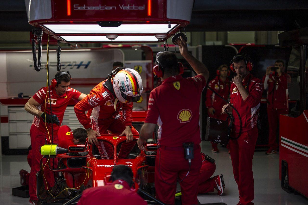 2018年F1第9戦オーストリアGP セバスチャン・ベッテル(フェラーリ)