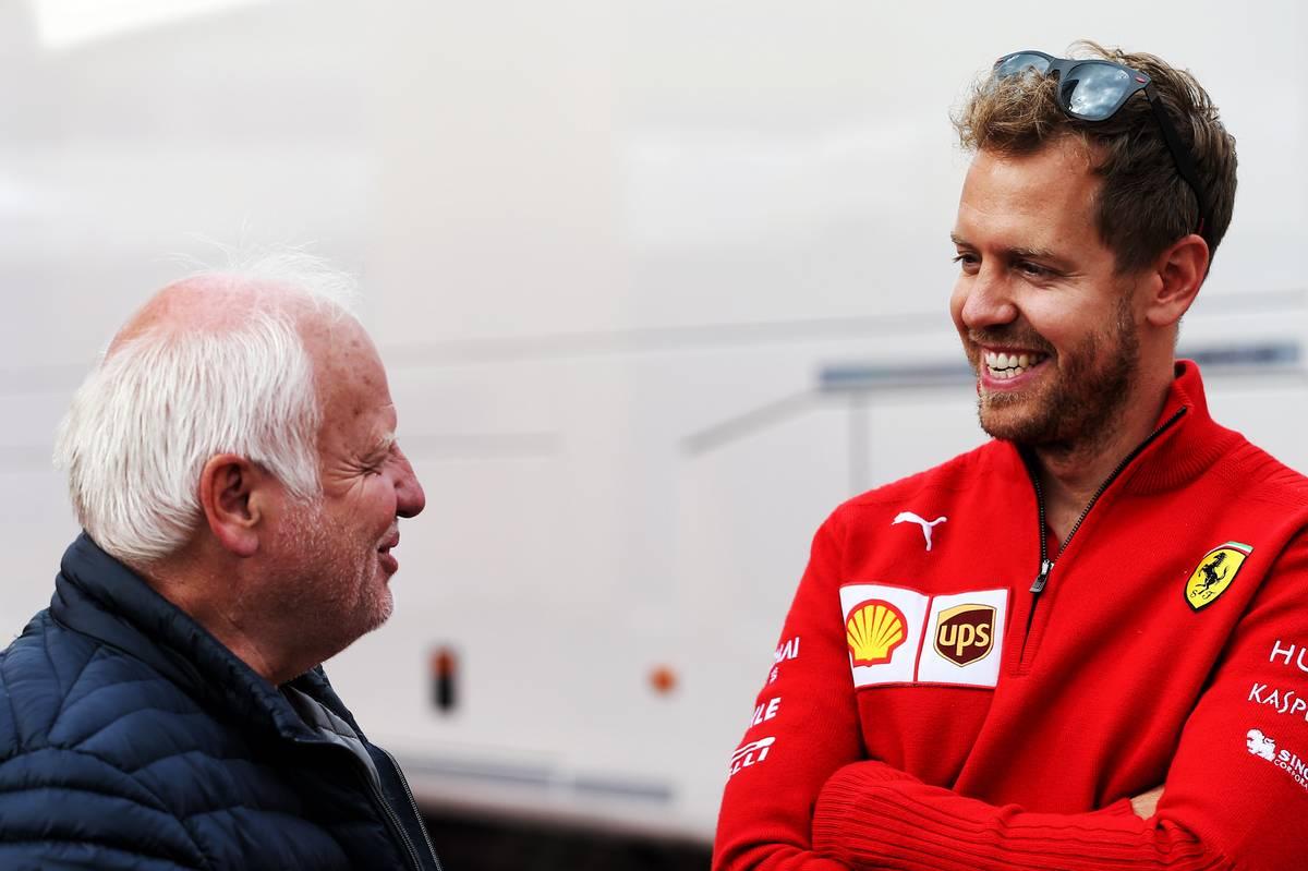 2018年F1オーストリアGP フェラーリのセバスチャン・ベッテルの応援に駆けつけた父ノルベルト・ベッテル
