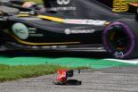 2018年F1第9戦オーストリアGP FP3でハートレーのフロントウイングが破損
