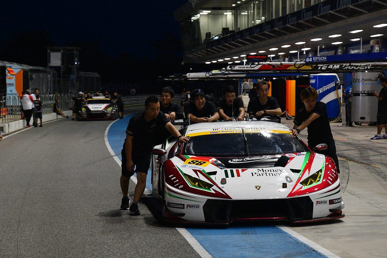 スーパーGT:第4戦タイのGT300予選結果発表。88号車ランボルギーニと10号車GT-Rのタイム抹消