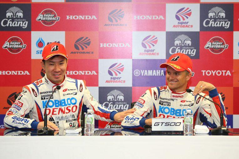 スーパーGT | スーパーGT:小林可夢偉「来るまで勝てると思ってなかったのが本音」/GT500優勝会見