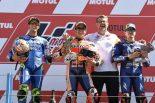 2018MotoGP第8戦オランダGP 決勝TOP3