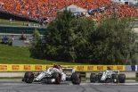 F1 | ザウバーが2台揃ってポイント獲得。ルクレール「最後尾近くから挽回し、楽しいレースだった」:F1オーストリアGP日曜