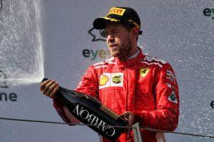 2018年F1第9戦オーストリアGP決勝 セバスチャン・ベッテル