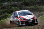 ラリー/WRC | 全日本ラリー:トヨタ、リタイアを喫するもマシンの進化に手応え。「ライバルと互角に戦える」