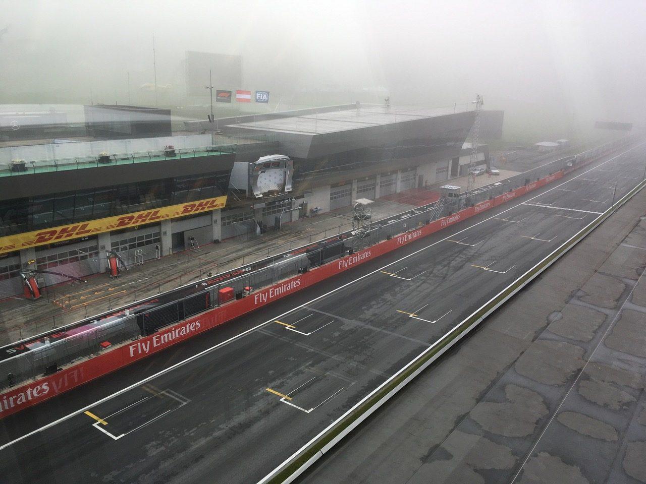 F1オーストリアGP現地情報2回目