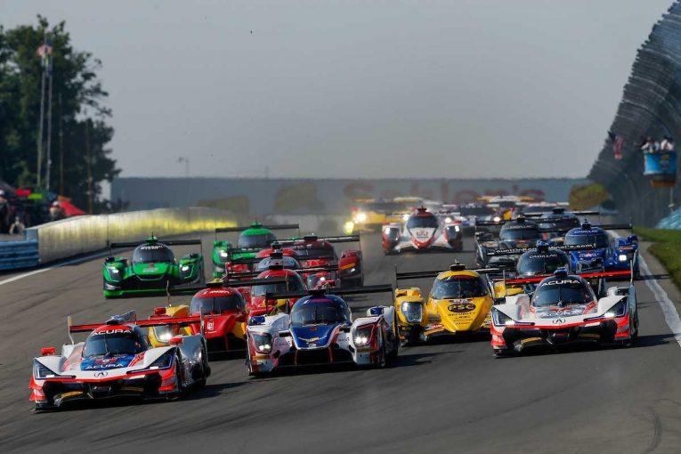 3クラス42台のエントリーを集めたIMSAウェザーテック・スポーツカー・チャンピオンシップ第6戦ワトキンス・グレン