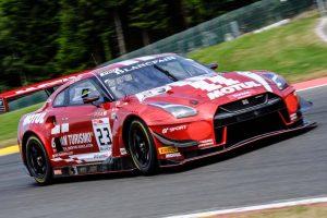 GT SPORT・モチュール・チームRJNの23号車ニッサンGT-RニスモGT3