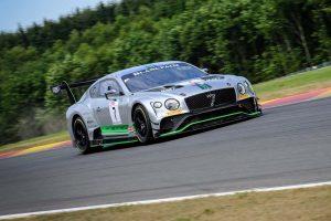 ベントレー・チームMスポーツの7号車ベントレー・コンチネンタルGT3