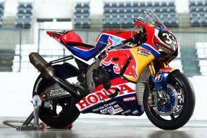 MotoGP | レッドブル・ホンダwith日本郵便が使用するCBR1000RRWのカラーリング