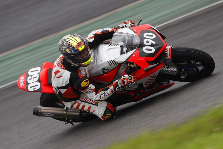 MotoGP | 鈴鹿8耐公開テストがスタート。初日はウエットコンディションのなか秋吉耕佑がトップ