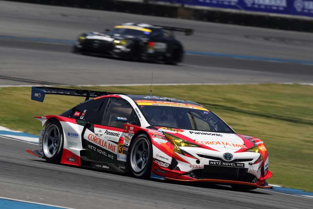30号車TOYOTA PRIUS apr GT 2018スーパーGT第4戦タイ レースレポート