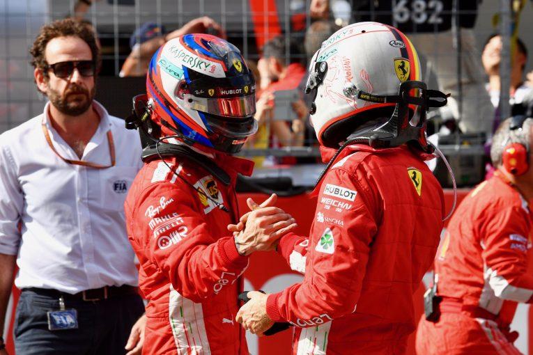 F1   エクレストン、F1オーストリアGPでチームオーダーを発令しなかったフェラーリを称賛