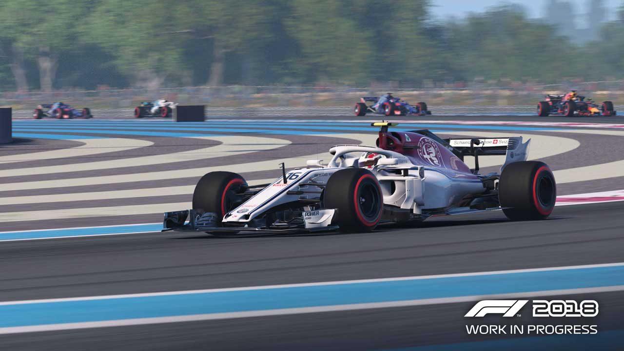 ユービーアイソフトのF1公式ゲーム『F1 2018』が9月20日発売。ルクレールのプレイ動画も公開中