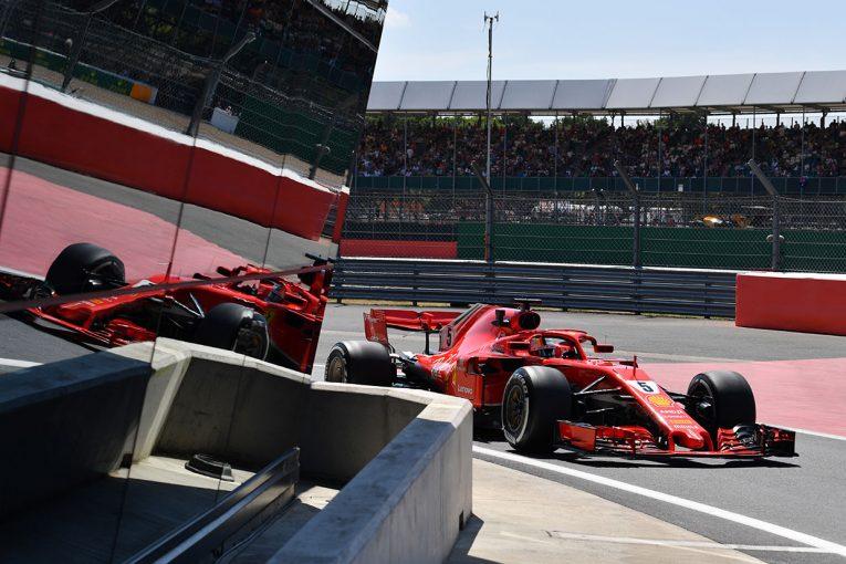 F1イギリスGP FP2:ベッテルがト...