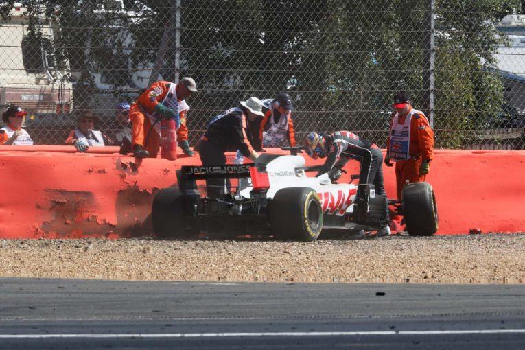 F1 | 【動画】グロージャンが1コーナーでクラッシュ/F1イギリスGP 金曜日
