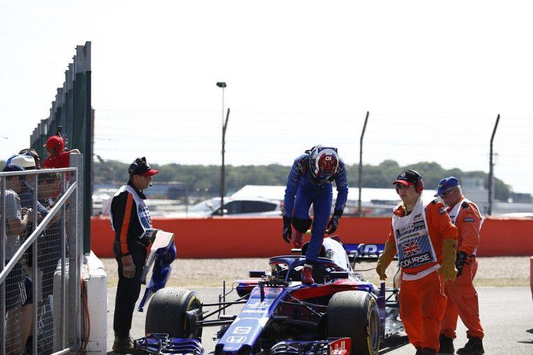 F1   ホンダ田辺TD「トラブルが起きたパワーユニットは金曜用。予選、決勝には影響しない」:F1イギリスGP金曜
