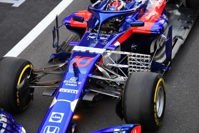 F1 | トロロッソ「空力アップグレードを導入、必要なデータをすべて集めた。予選に向けマシンを最適化する」:F1イギリスGP金曜
