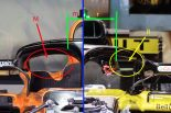 F1 | 【津川哲夫の私的F1メカ】厳しい冷却をどう克服するか。パワーユニット、センター・クーリング開発競争
