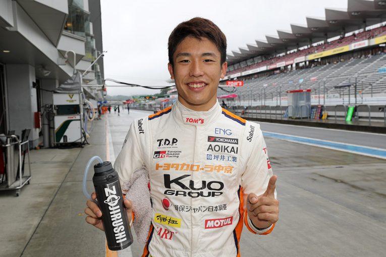 国内レース他   全日本F3選手権第5戦/第6戦:坪井が両戦ともポール獲得。第5戦は金丸が2番手に
