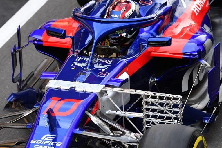 F1 | トロロッソ・ホンダ密着:空力のデータ取りに終始した初日、予選への手応えはまだ未知数