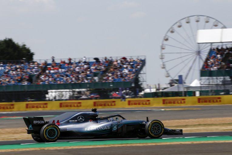 F1 | ハミルトン「戦闘機で飛んでいるような感覚。体力的に最もきついレースになるだろう」:F1イギリスGP金曜