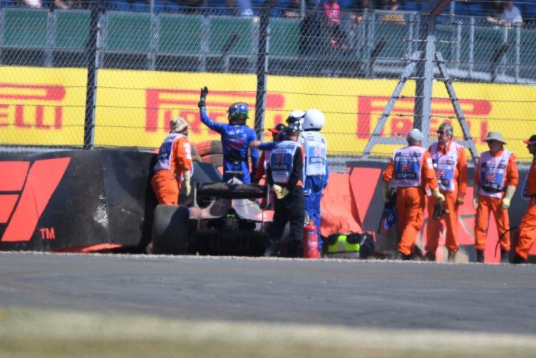 F1 | 大クラッシュのハートレー、メディカルチェックにパスも「ショックを受けている」