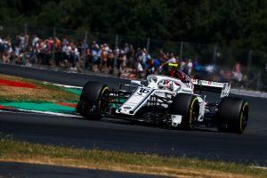 2018年F1第10戦イギリスGP シャルル・ルクレール